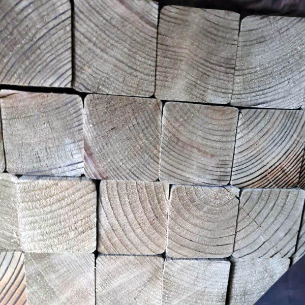 2x2 Tanalised Sawn Timber