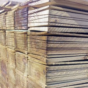 Feather Edge Tanalised Fence Boards